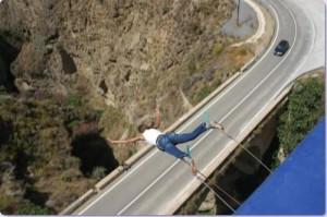 faire du saut à l'élastique en Andalousie