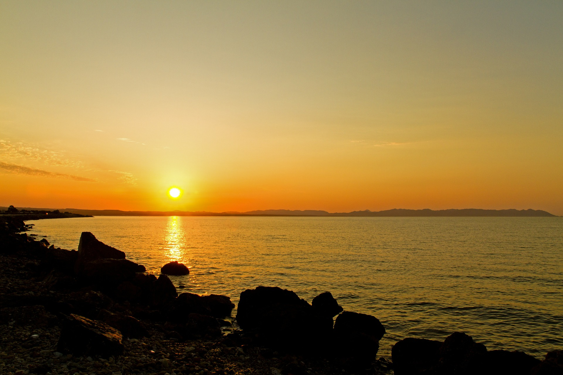 Le lever du soleil - Cap de Gata - Almería